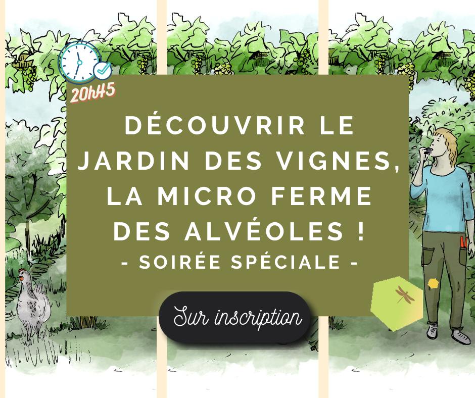 """Webinaire """"Design+"""" – Soirée de soutien au lancement du Jardin des Vignes"""