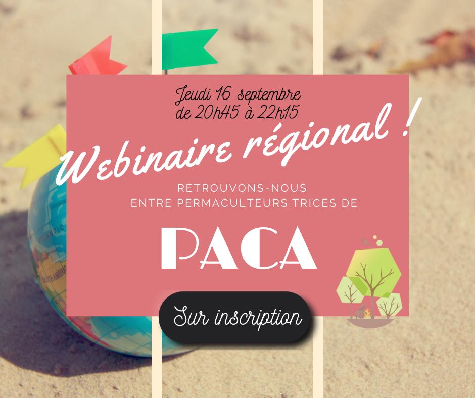 Webinaire régional PACA